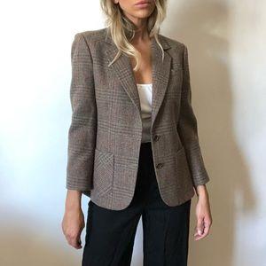 {Vintage} wool blazer
